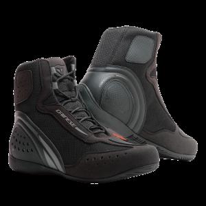 Motorshoe D1 D-WP Black:Black:Anthracite