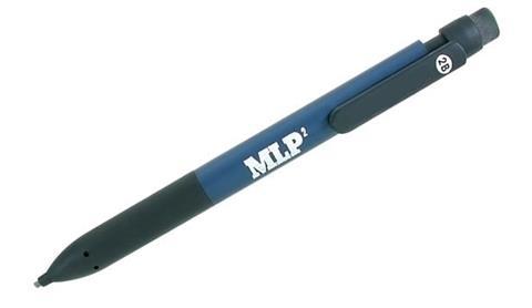 Flat lead pencil