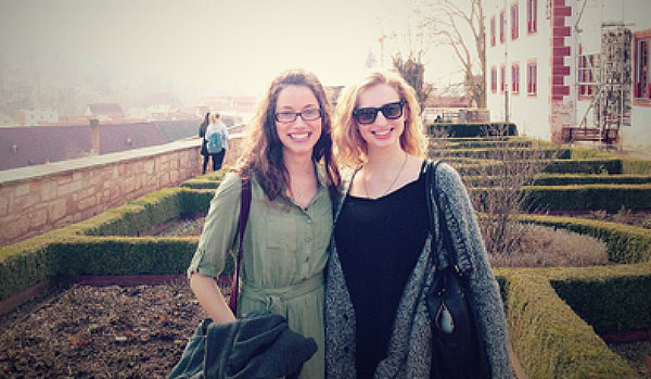 Pictured from left to right: Natasha Black and Haley Green
