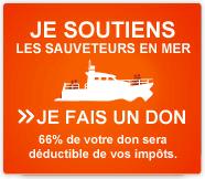 Je soutiens les Sauveteurs en mer, je fais un don (66% de votre don sera déductible de vos impôts)